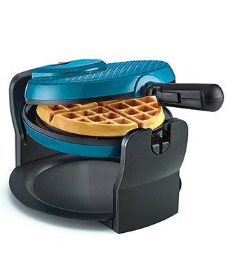 Breakfast Collection Rotating Waffle Maker