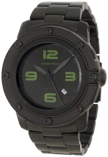 Glam Rock GR33006 - Reloj de pulsera hombre, acero inoxidable, color negro