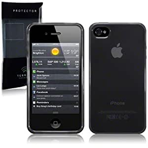 Gel Case For iPhone 4/4S - Black