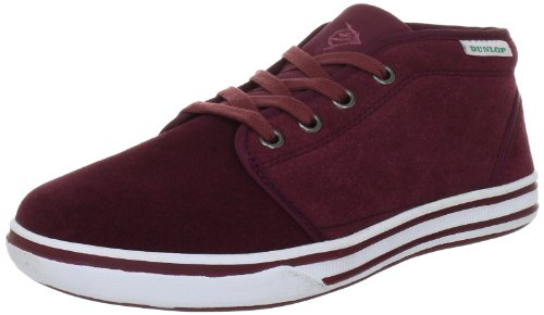 Dunlop Magister Hi Teal Trainers Unisex-Adult Red Rot (Burgundy) Size: 41