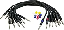 AP Audio TRS Stereo Patch Cable 10 Pack