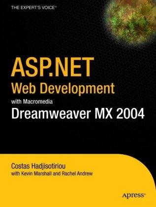 ASP.NET Web Development with Macromedia Dreamweaver MX 2004
