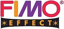 FIMO STAEDTLER efecto metálico rojo rubí (28) FIMO polímero de efecto de modelaje de modelar arcilla para horno bloque de Bake color 56 G (unidades 1)