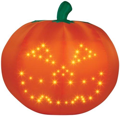Gemmy Light Show Singing Pumpkin front-813627