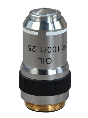 Omax 100X Fluor Objective (O,S) For Epi-Fluorescent Microscope