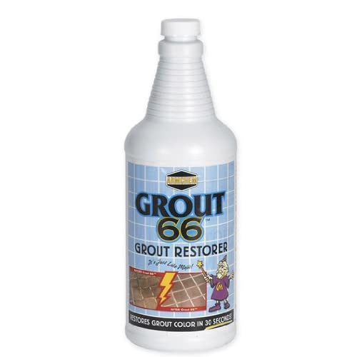 Grout 66 Quarts 2/pk w/ Brush - Tile Grout Cleaners