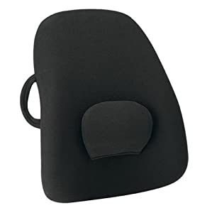 Obus Forme Ergonomic Orthopedic Low Back Backrest, Black