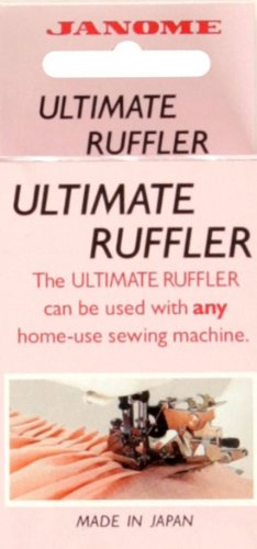 Why Choose The Janome Universal Ultimate Ruffler Accessory By The Each