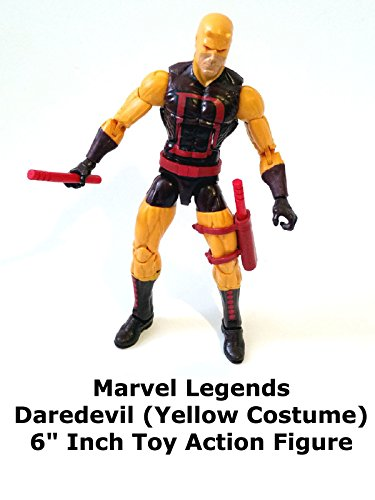 Review: Marvel Legends Daredevil (Yellow Costume) 6