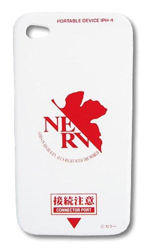 Evangelion Iphone 4 Pc Jacket Ev-33B Nerv White [Japan]