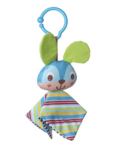 Tiny Love Clip on Toy, Crinkly Bunny - 1