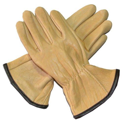 Men's Bison Leather Gloves