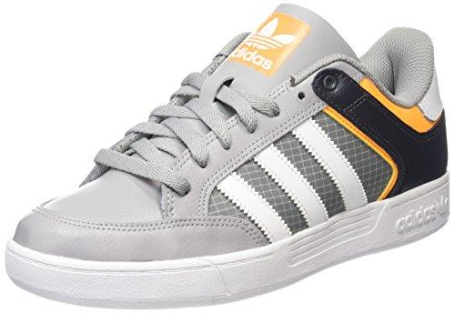 adidas - Varial Low, Scarpe da ginnastica Uomo, Grigio (Gris (Grpumg / Ftwbla / Dorsol)), 44
