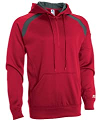 Russell Athletic Men's Technical Performance Fleece 1/4 Zip Hoodie