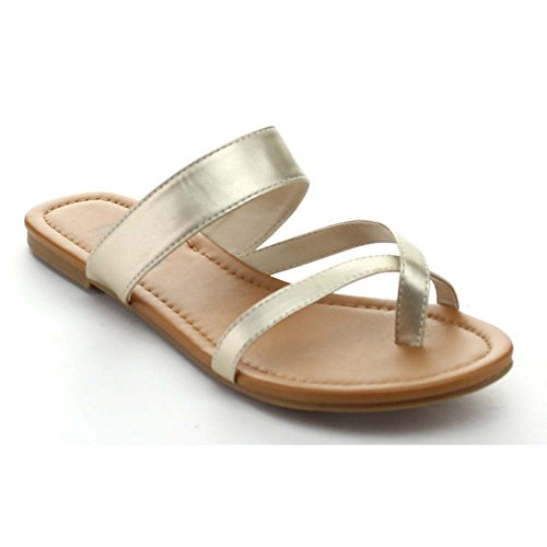 BONNIBEL ALBA-2 Women's Slip On Flat Thong Sandals