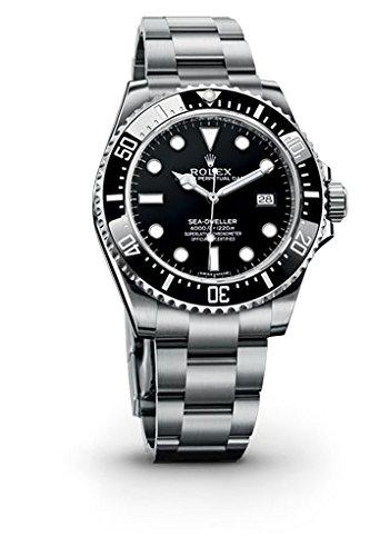 Rolex Seadweller Black Dial Stainless Steel Mens Watch 116600BKSO