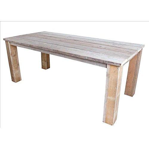 Bauholz-Mbel-Tisch-Bauholztisch-Gahalia-Gartentisch-300x100cm