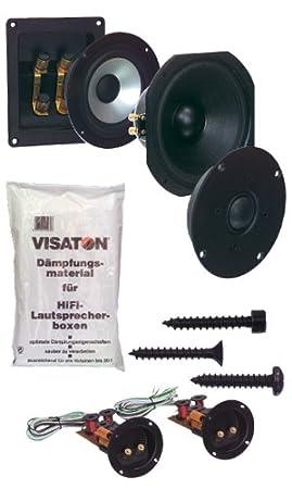 Visaton 5926 Enceinte pour MP3 & Ipod Noir