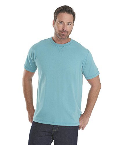 Woolrich-Mens-First-Forks-Solid-T-Shirt-Cove-XX-Large