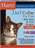 Hartz Mountain CHZ90745 F and T Cat Collar, 13-Inch, Purple