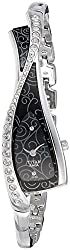 Titan Analog Black Dial Womens Watch - 9712SM02