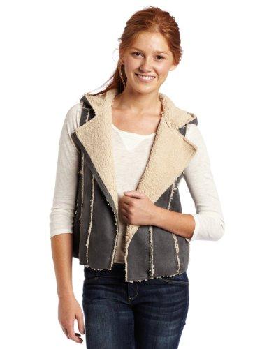 Jack Juniors Felicity Brushed Jacket, Dim Grey, Medium