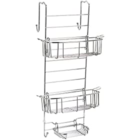 Zenith 7803SS Bathstyles Over Shower Door Caddy