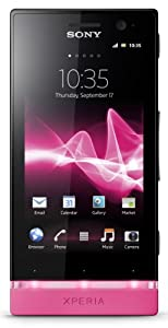 Sony Xperia U Sim Free Smartphone - Black (discontinued by manufacturer)