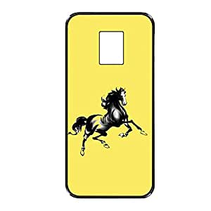 Vibhar printed case back cover for Samsung Galaxy Note 3 Neo YellowHorsie