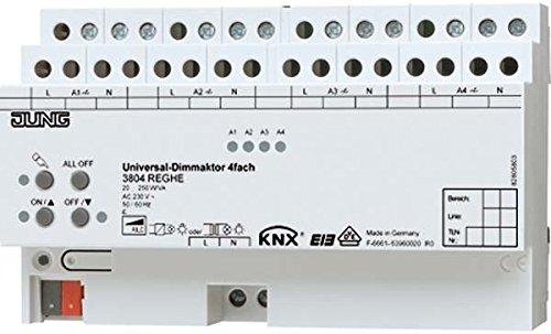KNX Universal-Dimmaktor 4-fach 3904REGHE