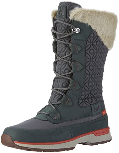 Helly Hansen W Snowbird Ht, Stivali da Neve Donna, Grigio (Rock/Darkest Spruce/N), 41 EU