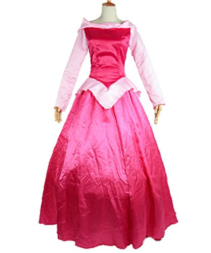 Halloween 2017 Disney Costumes Plus Size & Standard Women's Costume Characters - Women's Costume CharactersAurora Costume Women Adult Sleeping Beauty Princess Cosplay Dress