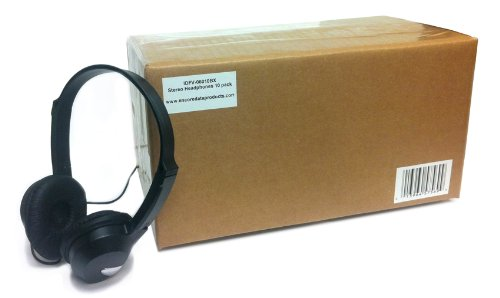 Education Idfv-06010Bx Stereo Headphones (10 Pack Box)