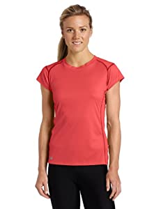 Outdoor Research Women's Echo Tee, Small, Azalea