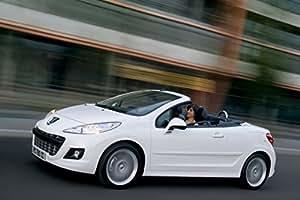 Amazon.com: Peugeot 207 CC (2009) Car Art Poster Print on 10 mil