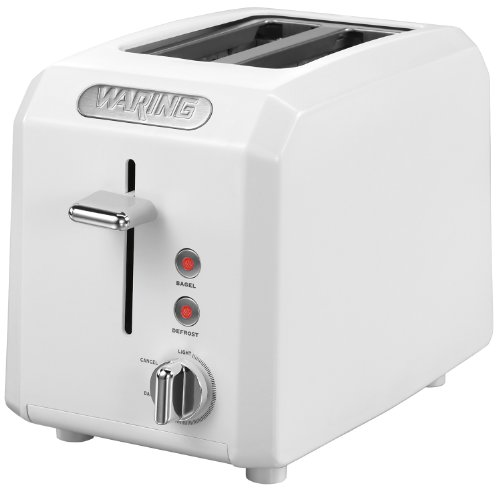 Waring CTT200W Professional Cool Touch 2-Slice Toaster, White
