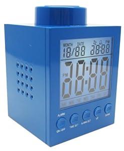 LEGO Clock Blue (1X1)