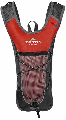 TETON Sports Trailrunner 2.0 Hydration Backpack, Red