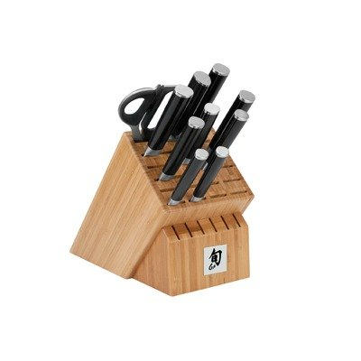 Shun DMS1100 Classic 11-Piece Deluxe Block Knife Set
