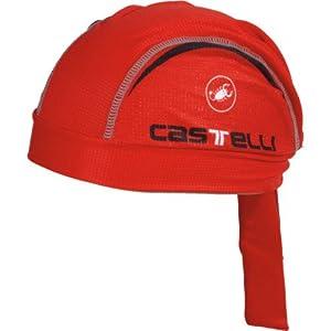 Castelli Scorpione Bandana Color: Red, Size: OSFA