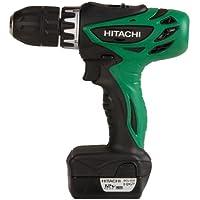 Hitachi DS10DFL 12V Cordless Drill/Driver + Hitachi D10VH 3/8