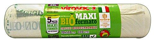 VIROSAC Sacchi Bio 70x110 * 5 Pezzi Riordino
