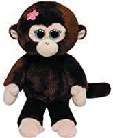 Ty Beanie Babies Petals Monkey with Flower Plush from Ty Beanie Babies