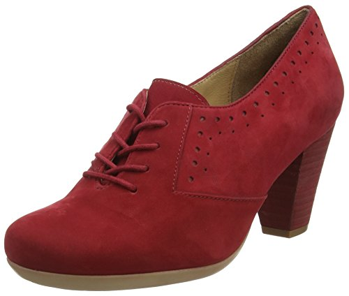 Marc ShoesElle - Scarpe con Tacco Donna , Rosso (Rot (red 650)), 42