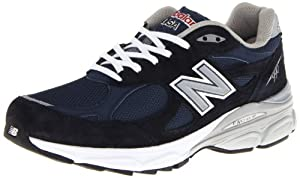 New Balance Men's 990V3 Running Shoe,Navy,11 2E US