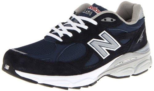 New Balance New Balance Men's M990 Heritage Running Shoe,Navy,10.5 D US