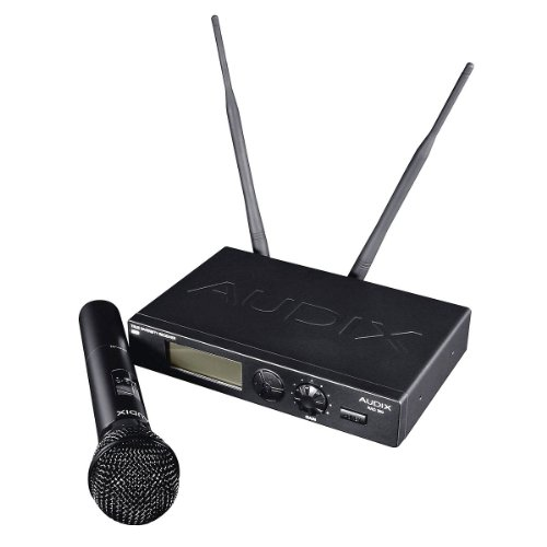 New Audix | High-Performence Wireless 193 Selectable Uhf Frequencies Handheld Microphone System, W3Om3 With Audix Rad-360 Receiver And Om3 Dynamic Handheld Transmitter