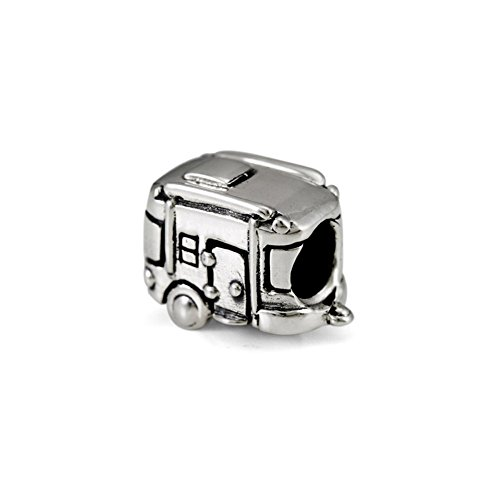 Ohm Beads Sterling Silver Camper Bead Charm