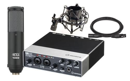 Steinberg Ur22 Recording Pack Audio Interface