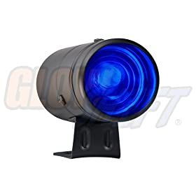 GlowShift Black Adjustable Shift Light w/ Blue Light